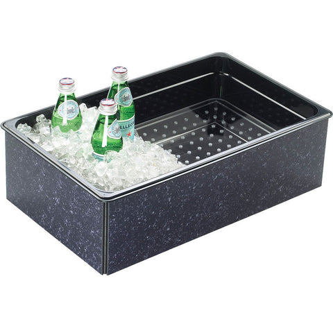 12W x 20D x 6H Fully Insulated Ice Housings Charcoal Granite