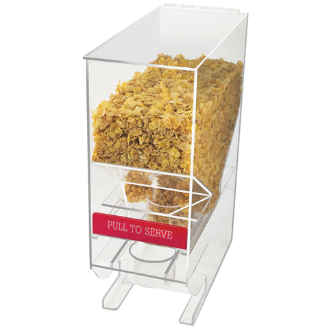 7W x 15.5D x 20H Portion Control Cereal Dispenser