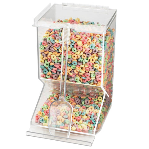 10W x 8D x 14H Stackable Bulk Cereal Dispenser
