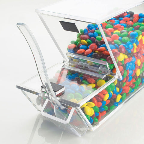4W x 11D x 7H Stackable Topping Dispenser with Holster