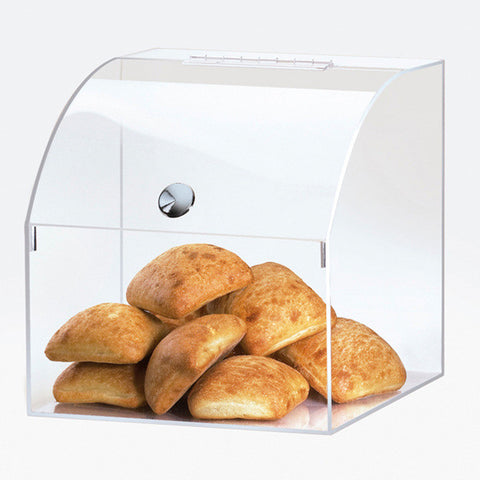 12.5W x 12.5D x 12.5H Curved Top Opening Bin