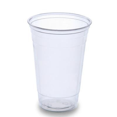 20 oz PETE Plastic Clear Cups/Set of 600