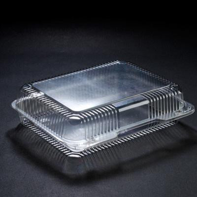 10 x 8 x 2  Strudel Plastic Hinged Containers/Set of 250