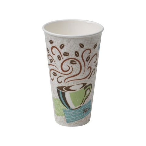 20 oz PerfecTouch Coffee Design Insulated Paper Hot Cup/Case of 500
