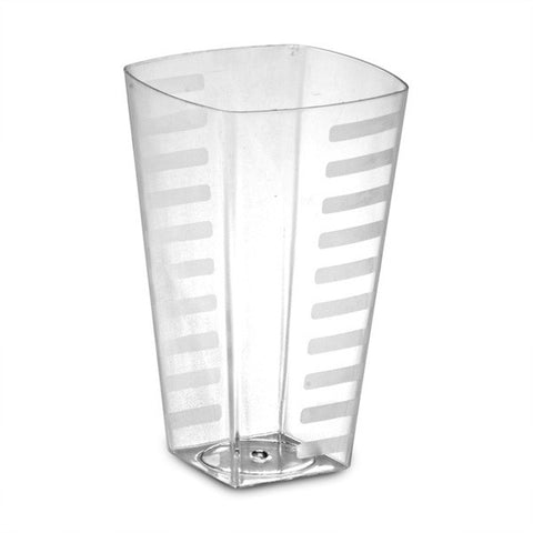 10 oz Caterging Plastic Square Tumblers/Case of 168