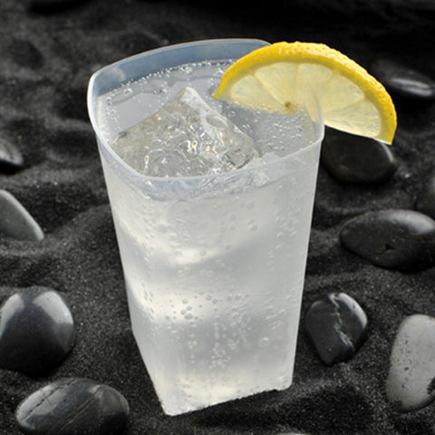12 oz Catering Polypropylene Square Tumblers/Case of 500