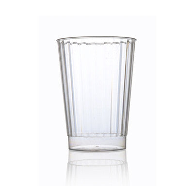 10 oz Plastic Crystal Round Tumblers/Case of 240
