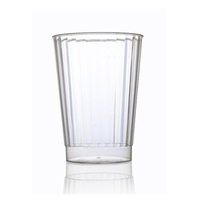 12 oz Plastic Crystal Round Tumblers/Case of 240