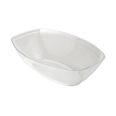 64 oz Plastic Oval Salad Bowls/Case of 50