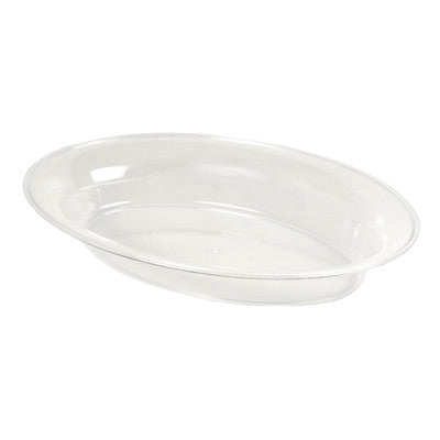14 x 21 250 oz Plastic Oval Bowls/Case of 20