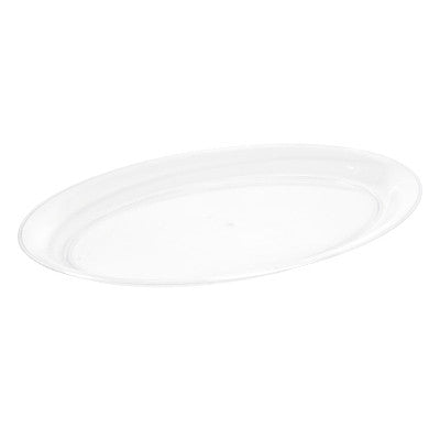 14 x 21 Plastic Oval Tray/Case of 20