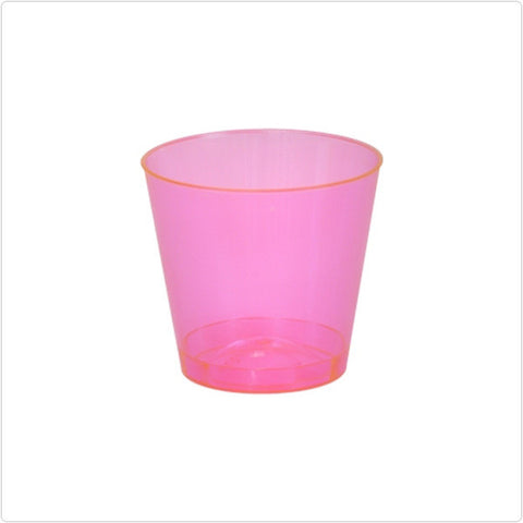 1 oz Round Plastic Shot Glasses/Case of 2500