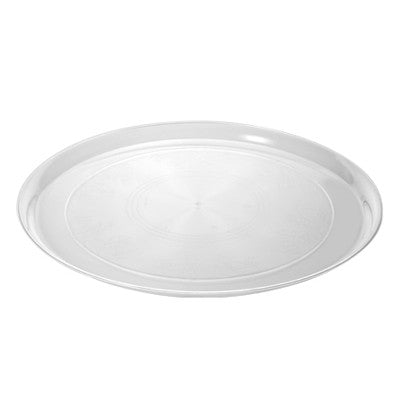 12 Inch Supreme Plastic Round Trays/Case of 25