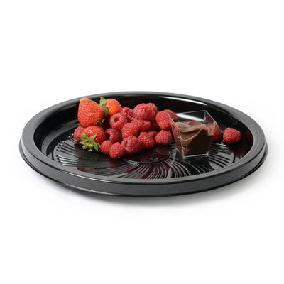 12 Inch Thermoform Majestic Round Tray/Case of 25
