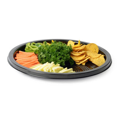 16 Inch Thermoform Majestic Round Tray/Case of 25