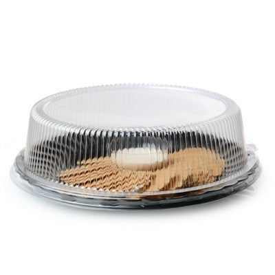 10 Inch Dome PET Lid with 2 1/2 Inch Hight/Case of 120