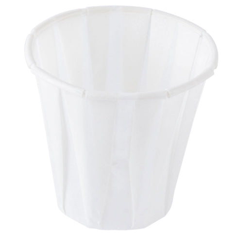 4 oz Paper Pleated Water Cup/Case of 2500