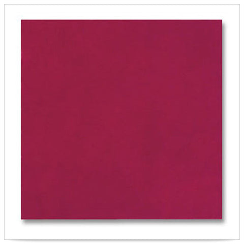 16 x 16 LINEN LIKE FLAT PACKS Burgundy Napkin/Case of 500