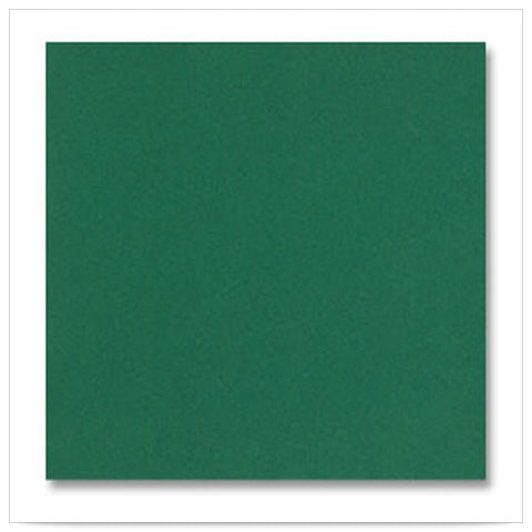 16 x 16 LINEN LIKE FLAT PACKS Hunter Green Napkin/Case of 500