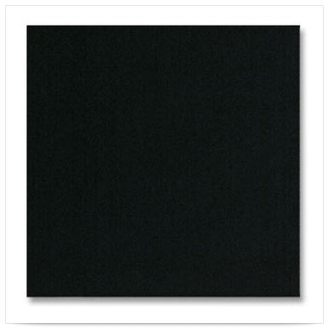 16 x 16 LINEN LIKE FLAT PACKS Black Napkin/Case of 500