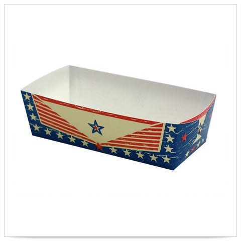 1 1/5 x 3 1/5 Old Glory 1 3/8 inch Wall Small Loaf Pan/Case of 300
