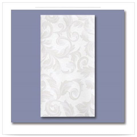 12 x 17 LINEN LIKE Imperial Guest Towel 1/6 Fold/Case of 500