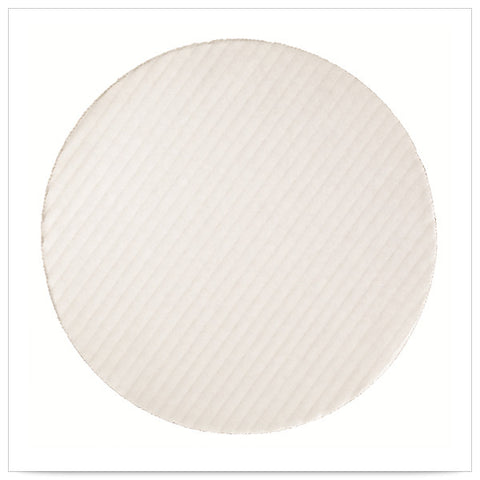 10 inch White Top Corrugated Cake Circle/Case of 250