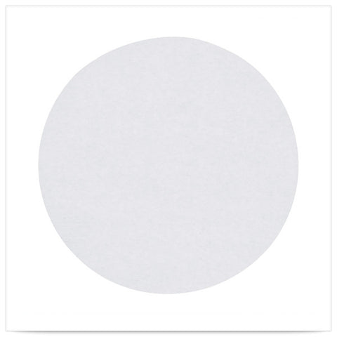 7 7/8 inch Dry Wax Cake Circle/Case of 1000