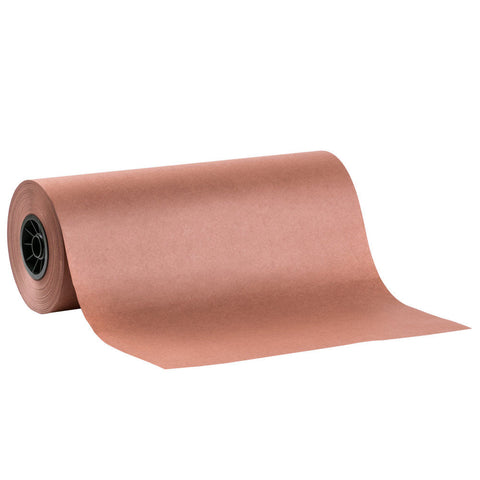 12 Inch Peach Paper Meat Wrap Paper 1 Roll