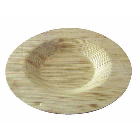 3 1/2 Inch Round Bamboo Leaf Plates/Case of 1000