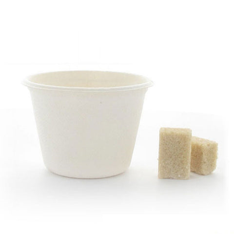 4.7 oz Mini Sugarcane Cup/Case of 1000