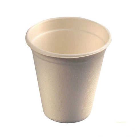 Eco Friendly 8 oz Sugar Cane Cups/Case of 1000