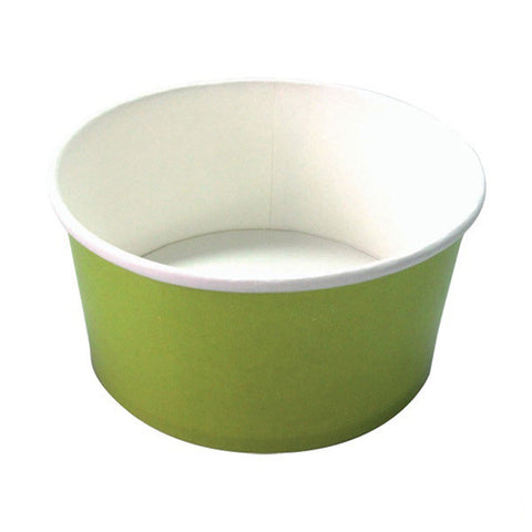 32 oz Round Green Paper Bucket To Go/Case of 360