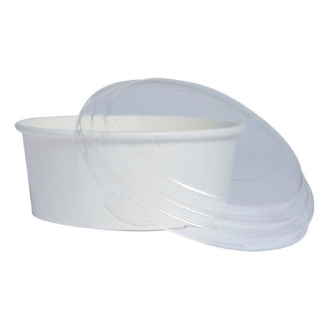 24 oz Round White Paper Bucket to Go/Case of 360