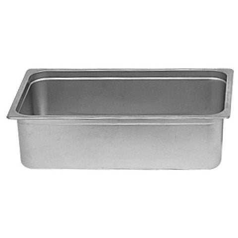 Stainless Steel Dripless Water Pan/Case of 3