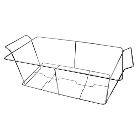 "Chrome Plated Wire Stand  22 3/4"" X 12 1/4"" X 9""/Case of 12"