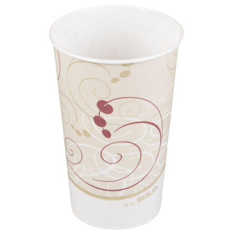 16 oz Symphony Designed Hot Cup/Case of 1000