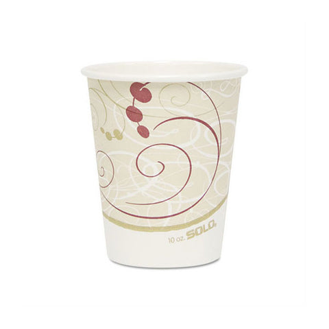 10 OZ Symphony Designed Tall Hot Cup/Case of 1000