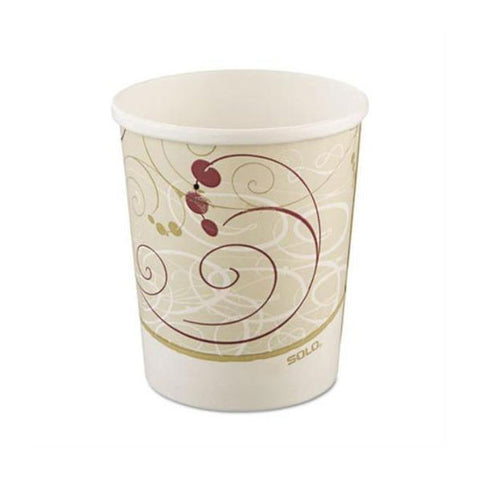 8 OZ Symphony Designed Paper Hot Cup/Case of 1000