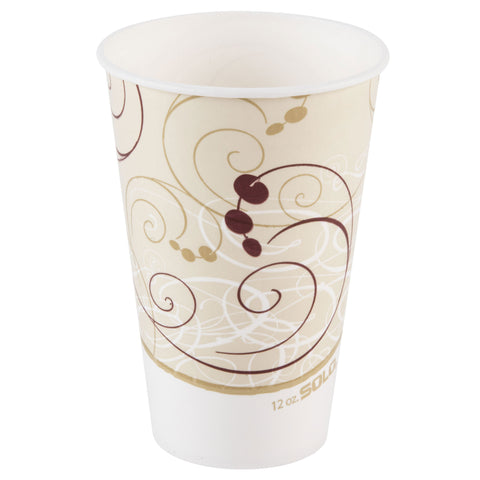 12 oz Symphony Designed Hot Cup/Case of 1000