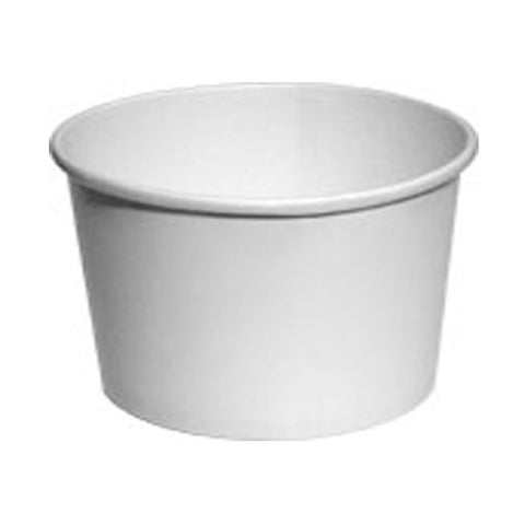 12 oz White Hot/Cold Food Container Base Only/Case of 500