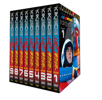 Kikaida DVD Volume 1-9 Value Pack