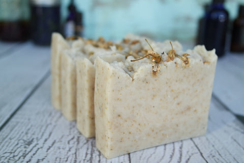 Soothe - Herbal Soap - all natural soap, calming, chamomile, lavender