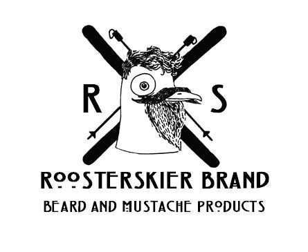 RoosterSkier Brand Beard and Mustache Products