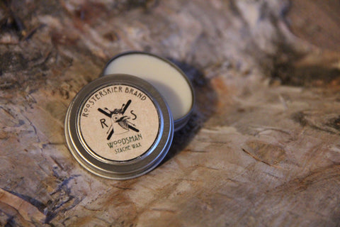 Mustache Wax - Woodsman Scent 0.5 fl. oz./15ml
