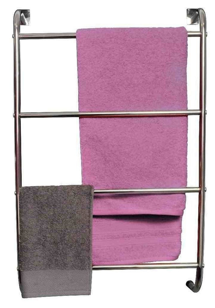 4 Tier Heavy Duty Over Door Towel Rail