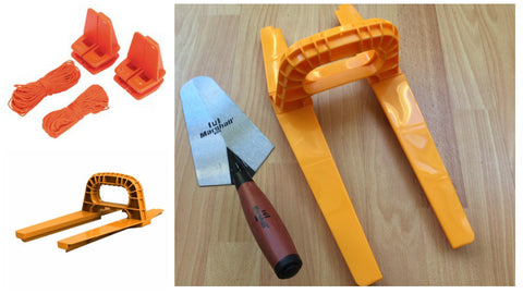 brick and blocks wall building tool kit