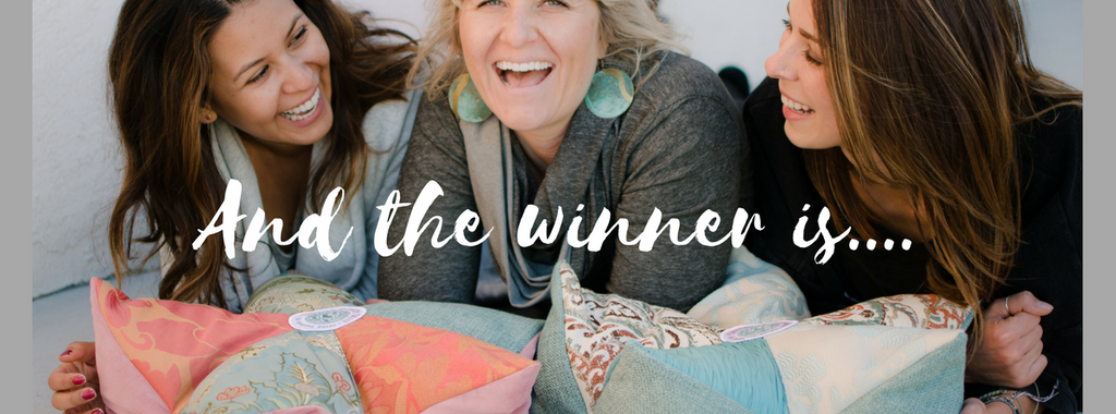 Who is the winner of the Meditation Cushion?