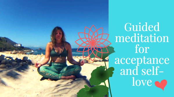 Bloom like the lotus flower : with guided meditation