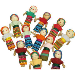 "2.5"" Worry Dolls (Set of 12)"